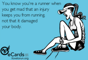 Get Mad Injury keeps you from running