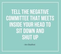 Negative Committee in your head