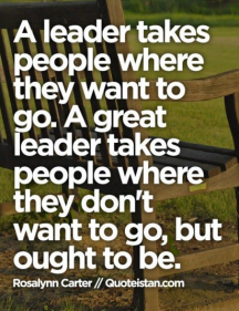 Leadership Taking People