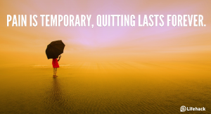 pain quitting