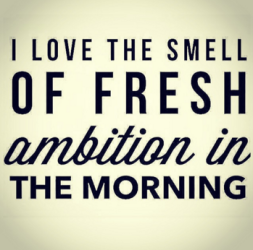 Smell of ambition