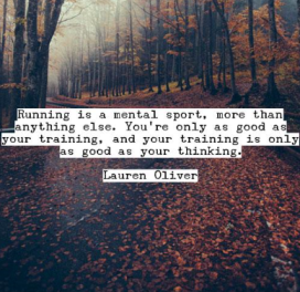 Running - Quote - Thinking