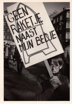 Vredesbeweging, betoging Brussel 198