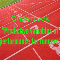 "Onderzoek - ""Predictive variables of performance for runners"""