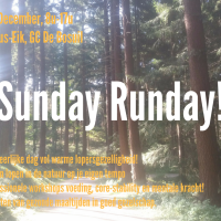 10 December: Sunday, Runday