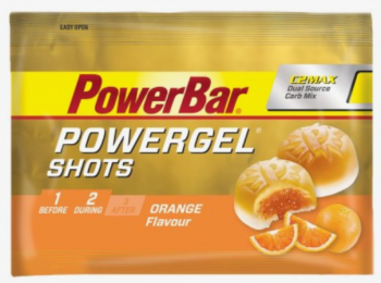 powerbar gel shots